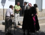 Visita del Obispo de Cuenca - Mons. D. José María Yanguas Sanz  16 Junio 2012