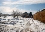 Nieve en Casas de Guijarro